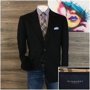 Burberry London 100% Cashmere Sport Coat Blazer